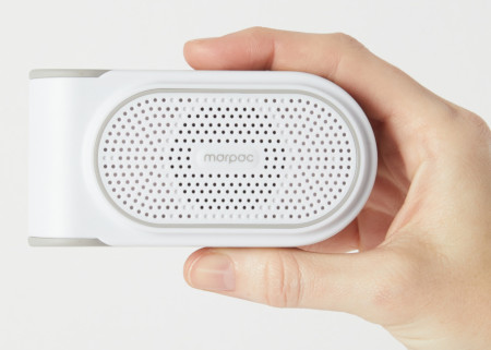 Portable sound machine for better sleep.