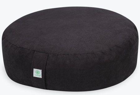Zen meditation cushion for comfort when stacking your spine.