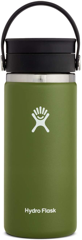 12 ounce travel wide mouth coffee mug.