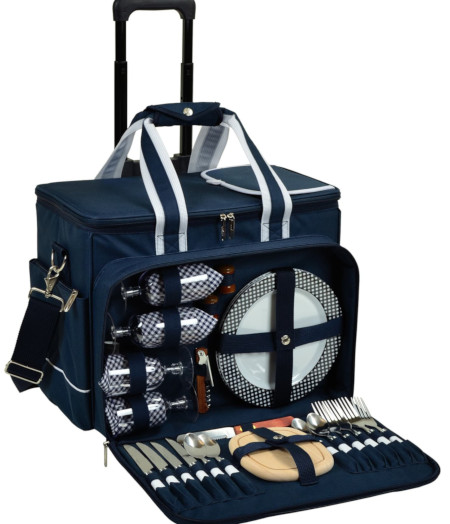 Best Picnic Baskets 2020 Picnic for 4 with everything you need to eat and drink.