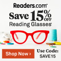 Save 15% promo for Readers.com.