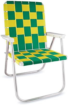 What to bring to your picnic - Classic aluminum folding yard chair.