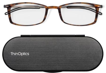 World's thinnest and lightest full frame unisex reader glasses.