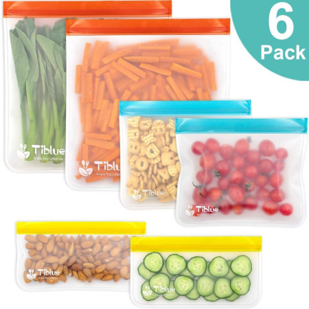 For food or travel zip-lock bags from small to 2 gallon sizes.