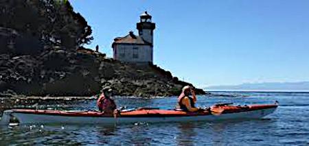 Kayaking in San Juans