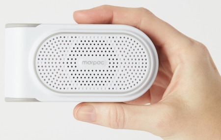 11 high-quality sound options, this sound machine can be used either to induce sleep or to help you concentrate when your environment isn't conducive.
