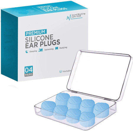Moldable sound blocking reusable ear plugs with highest NRR.