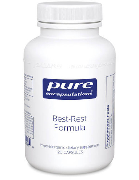 Contains Valerian root and melatonin to help in sleep.