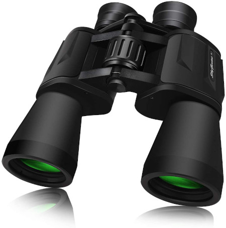 Full size adult binoculars with 50mm lens.