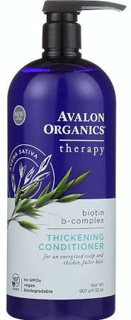 Best clean shampoos -Organic conditioner nourishes and hydrates fine, thinning hair to help build volume.