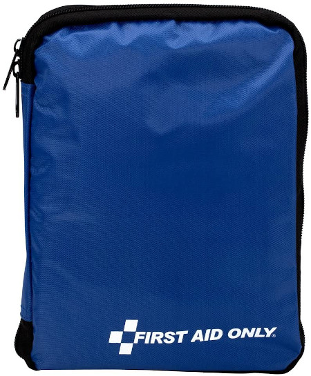 299 piece travel size first aid supplies for treating minor aches and injuries.