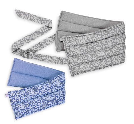 2 piece set for therapeutic warmth of our lavender-infused wraps.