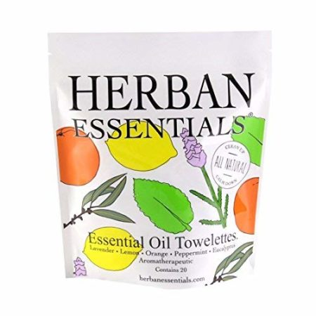 Keeps hands clean, good for traveling, can even use for aromatherapy .