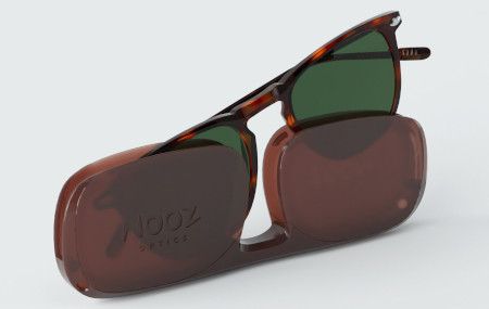 Dino style polarized compact reader sunglasses.