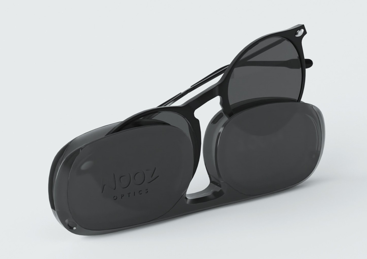 Oval shaped readers to keep in pocket or purse.