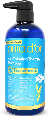 Best clean shampoos -Uses 15 key ingredients to stimulate and restore hair follicles.