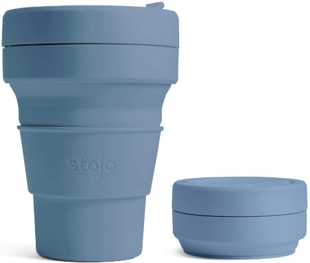 Collapsible cup for commuting or cocktails.