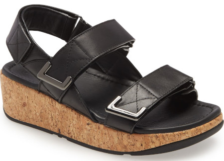 how to take care of your feet - Shock absorbing mid-sole and easy adjustable straps ensure a comfortable shoe.