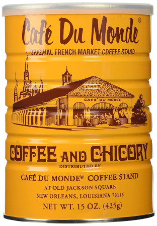 From New Orleans coffee with the enhanced flavor of chicory.