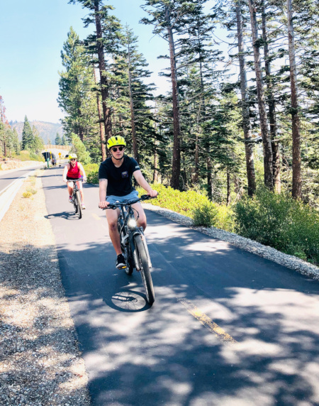 E Biking in Mammoth Lakes
