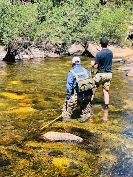 weekend getaway ideas - Fly fishing in the mountains