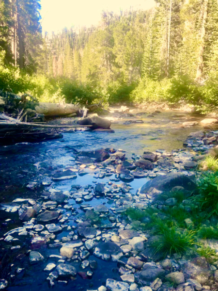 weekend getaway ideas - mammoth streams