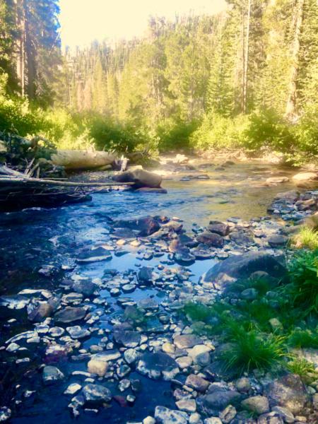 weekend getaway ideas - mammoth streams