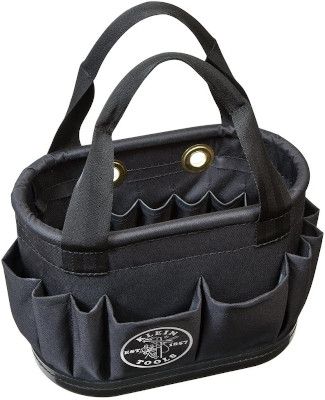 Tool bucket with handles to conveniently store your own tools and carry to where you need it.