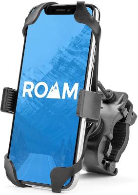 Universal phone mount for bikes, bikes, exercise bikes, easily mounts and adjustable.