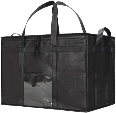 Insulated food carrying bag.