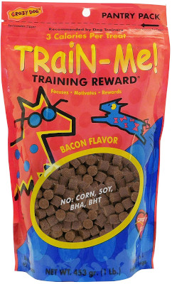 Healthy and tasty for your pet helps make training easier.