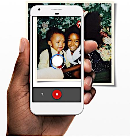 Google photo scan app