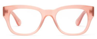 Progressive or reader lens in stylish frame.