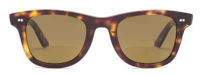 2 frame color choices for the Wayfarer style reader sunglasses.