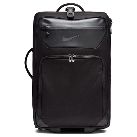 Stylish travel with 2 outer pockets and wheels for ease of travel.